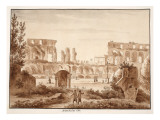 The Arena of the Colosseum in 1788  1833