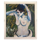 Woman with Raised Arms  1910