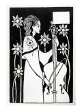 Lady with Cello  from 'Le Morte D'Arthur'