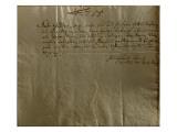 Remuneration Receipt  17th December  1704