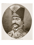 Portrait of Nasser-Ed-Deen  Shah of Persia