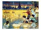 Loy Krathong Festival in Bangkok