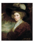 Portrait of Mrs Charles James Fox  1784-9