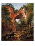A Natural Bridge  Virginia  1860
