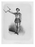 The Trapeze Artist Jules Leotard  C;1860