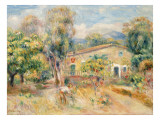 Collettes Farmhouse  Cagnes  1910