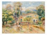 Collettes Farmhouse  Cagnes  1910