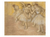 Five Dancers on Stage  C1906-08