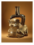 Vessel with Puma  Chavin Culture  C90 Bc