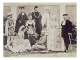 A Group of English Actors in India  C1880