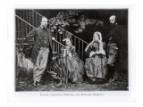 Dante  Christina  Frances and William Rossetti