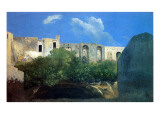 Ruined Buildings Near Naples  C1782