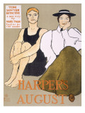 Cover of 'Harper's Magazine'  1896
