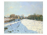 Effect of Snow at Argenteuil  1874