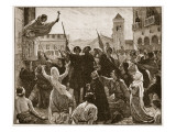 St Bernard Preaching the Second Crusade