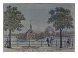 The Pool and French Church in Potsdam  C1796