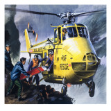 Search and Rescue  from 'Into the Blue'