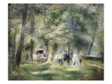 In the Park at Saint-Cloud  1866