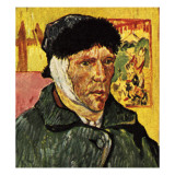 Van Gogh with a Bandage Round His Head