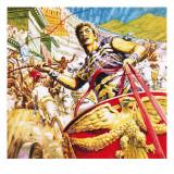 Ben-Hur Racing a Chariot in Ancient Rome
