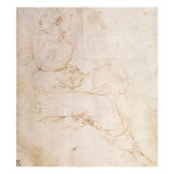 Study of Erato  for 'The Parnassus'  1510-11