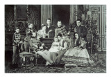 Family Portrait of Emperor Alexander Ii