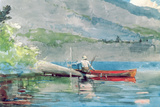 The Red Canoe  1884