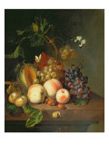 A Still Life on a Marble Ledge