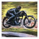 Racing a Velocette