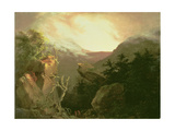 Mountain Sunrise  1826