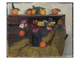 Anemones and Oranges  1924