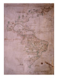 Map of the New World  C1532