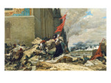 Durning of the Tuileries  1871