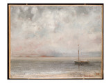Clouds on Lake Geneva  1875