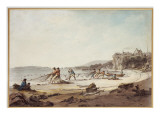 A Drawnet at Tenby  1795