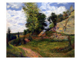 Quarries at Pontoise  1882