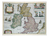 Map of Britain  1631