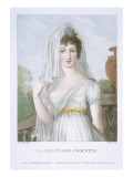 The Pretty French Girl  C1816