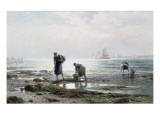 Oyster Gatherers  1883