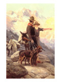 The Mountain Hunt  1917