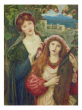 The Childhood of Saint Cecily