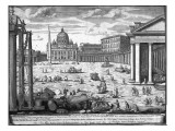 View of St Peter's  Rome