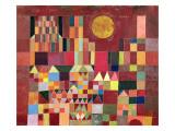 Castle and Sun, 1928 Reproduction d'art par Paul Klee