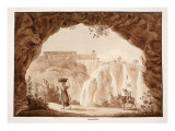 The Waterfalls at Tivoli  1833