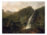 View of Powerscourt Waterfall