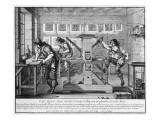French Printing Press  1642