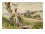 The Milkmaid  1860