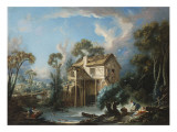 The Mill at Charenton  C1756