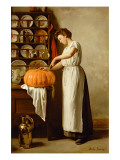 Cutting the Pumpkin  1910