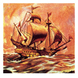 Drake's Golden Hind